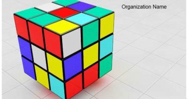 Transparent 3D Cubes for PowerPoint | D, 3d and Templates