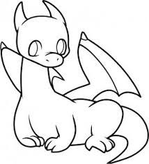 Image Result For Simple Line Drawing Dragon Cute Dragon Drawing Dragon Drawing Simple Dragon Drawing