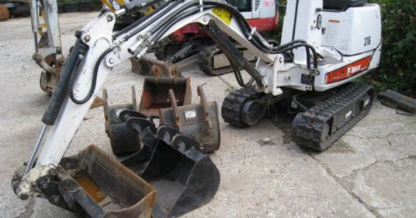 Attachments Specifications For Bobcat 316 Mini Excavator