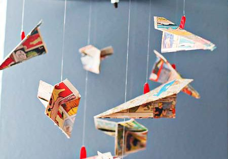 The 10 best craft ideas and activities for paper planes (www.hodgepodgecraft.com, baby