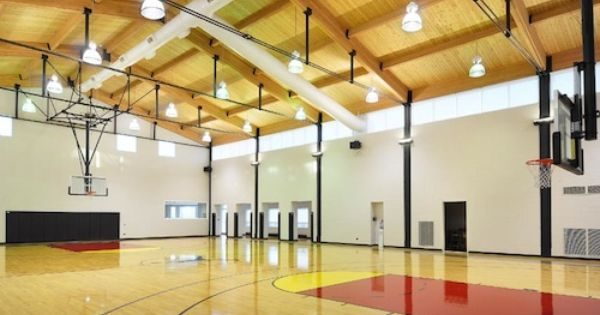 Mj S Indoor Court My Dream The House Is For Sale Now Indoor Basketball Court Celebrity Houses Outdoor Basketball Court