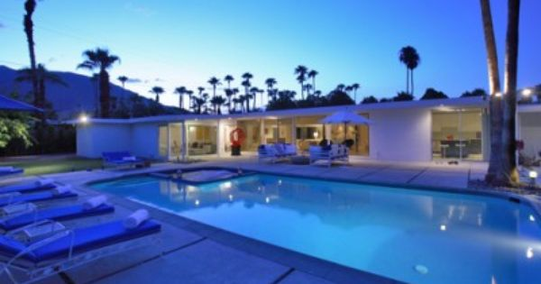 Dean Martin S Home Lemontini Palm Springs Is A 3 Br 3 Ba