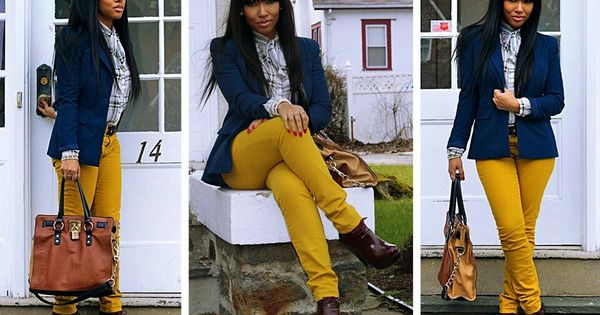 Pants, Mustard yellow pants and Yellow on Pinterest