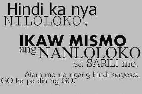 Quotes About Love Tagalog Broken Hearted Tumblr