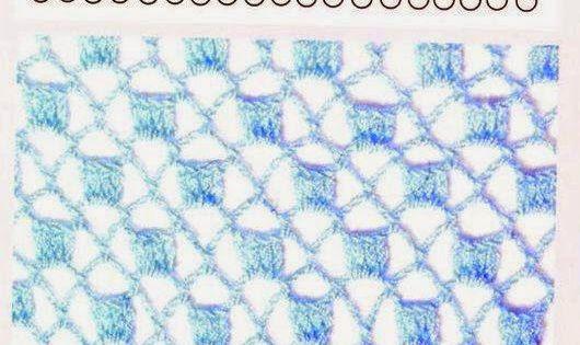 150 puntos fantas a en crochet con gr ficos patrones - Esquema punto estrella crochet ...