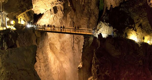 Škocjan Caves, Slovenia. travel idea