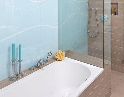 badewanne mit duschkabine glaswand dusche pinterest duschkabine badewannen und wannen. Black Bedroom Furniture Sets. Home Design Ideas