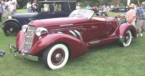 1935 Auburn Boat Tailed Speedster Cars Auburn