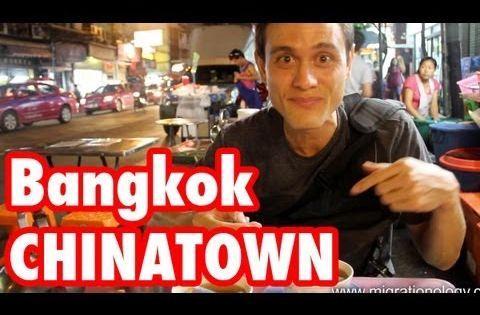 Chinatown Bangkok Yaowarat Street Food Tour เยาวราช Food Tours Chinatown Bangkok