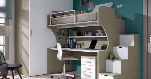 modernes kinderzimmer junge platzsparende m bel beige wei. Black Bedroom Furniture Sets. Home Design Ideas