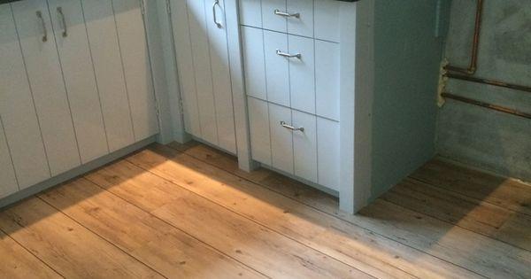Idee kleur keuken in combi visgraat troffelvloer vloer kris pinterest vloeren visgraat - Idee vloer ...