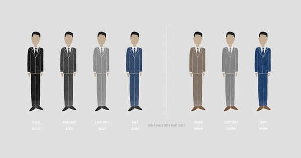 You should match your shoes to the color of your suit using this guide: | 27 Unspoken Suit Rules Every Man Should Know | See more about Suits, Shoes and Zapatos.