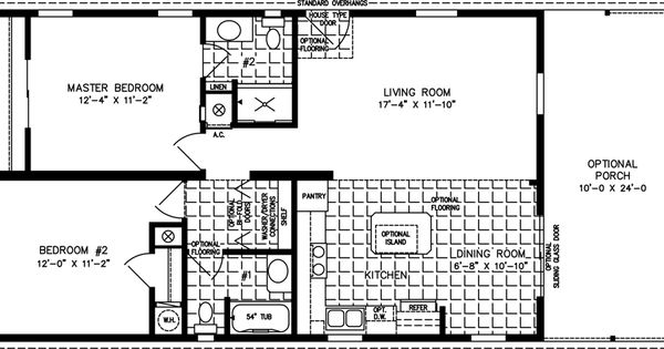 Manufactured Home Floor Plans 800 Sq Ft 999 Sq Ft