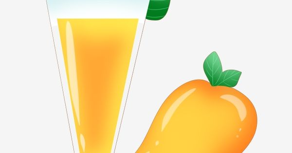 A Glass Of Mango Juice Illustration Juice Clipart Yellow Mango Juice Png Transparent Clipart Image And Psd File For Free Download Mango Juice Mango Drinks Mango