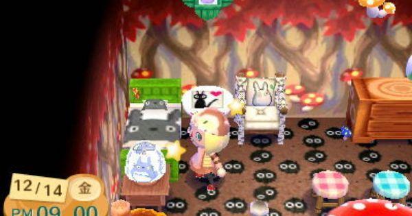 Studios Ghibli Themed Room Animal Crossing Japanese Animals Animal Crossing 3ds