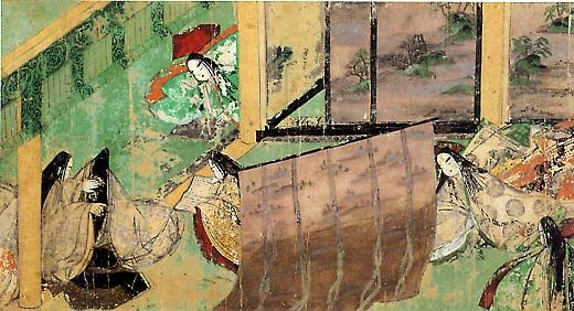 """an analysis of genji monogatari the greatest single work in japanese literature 1the scholarly community now concurs that the genji monogatari is indebted to the kagerō no nikki 蜻蛉日記 (the kagerō diary), the first extant work in japanese prose written by a woman1 2the kagerō author, known only as """"the mother of fujiwara no michitsuna"""" 藤原道綱母, and murasaki shikibu are separated by a."""