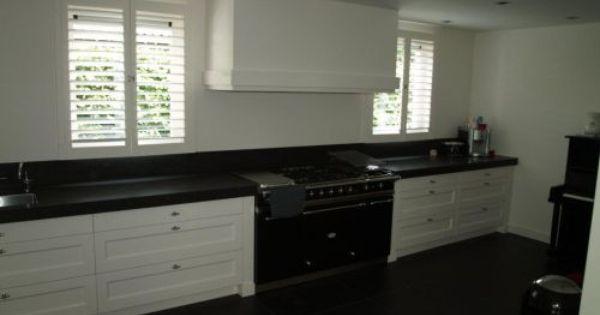 Vri interieur landelijke keuken modern wit met houten for Landelijk klassiek interieur