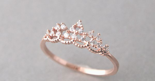 A promise ring for your daughter reminding her she is a Princess,