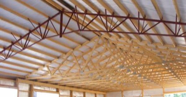 Pole Barn Truss Options Google Search Pole Barn Homes