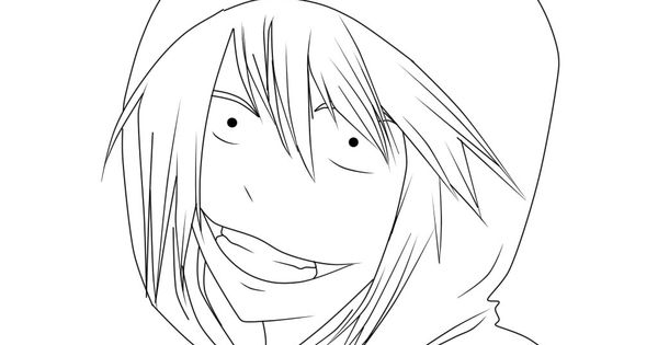 Free Jeff The Killer Coloring Pages