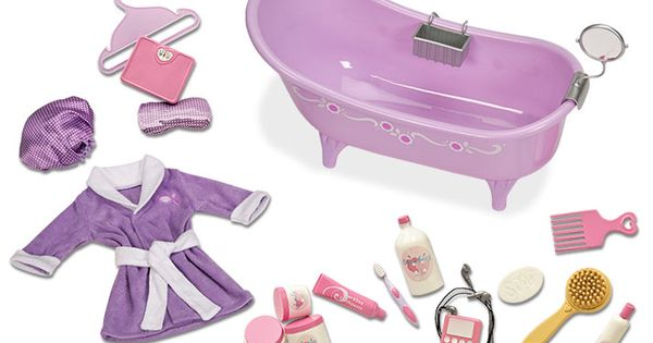 Slipper Tub With Bath And Body Set Our Generation Dolls