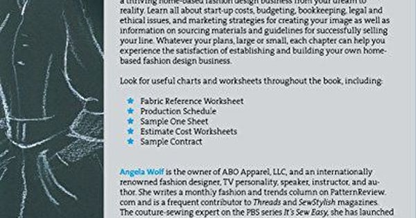 How to Start a Home-based Fashion Design Business (Home-Based - business startup costs spreadsheet