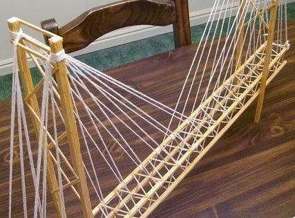 how to build a icy pole stick bridge