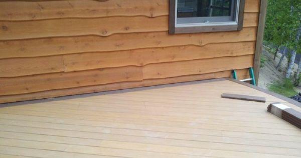 Prefinished Wavy Edge Cedar Siding And Rough Cut