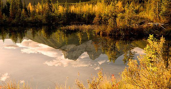 Three Sisters Mountains, Oregon in Autumn
