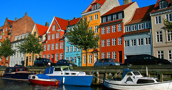 Top 10 Colorful and Beautiful Buildings, Colorful buildings in Nyhavn, Denmark