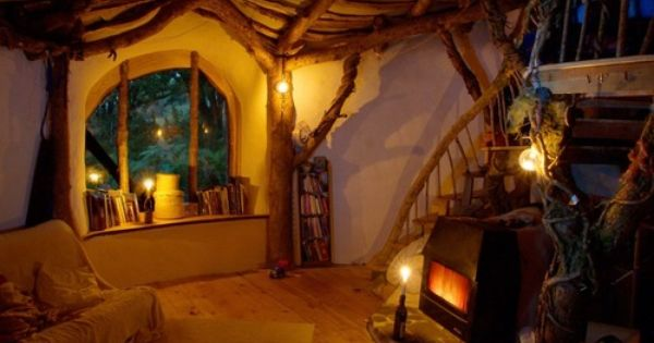 Hobbit House Interior - Yes, I would live in a Hobbit Hole
