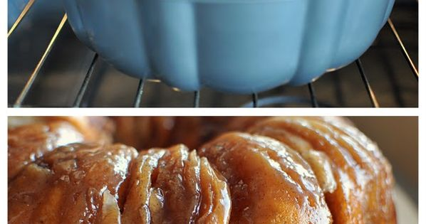 Christmas morning? Sticky Bun Breakfast Ring 2 small tubes refrigerator buttermilk biscuits