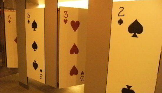 Card Toilets Las Vegas Much