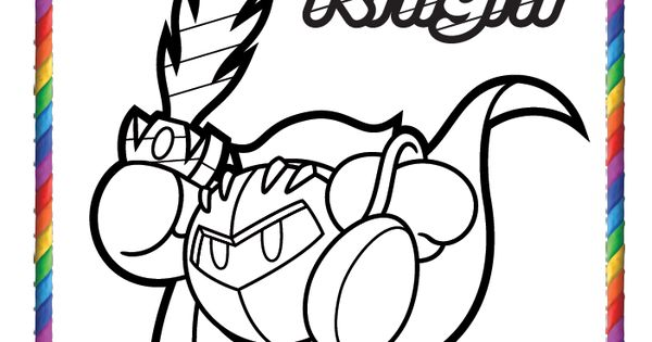 YUSS! THERE\'S A META KNIGHT ONE!!!!!! NEED TO COLOR!!!! | meta ...