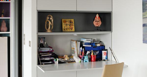Coin bureau pour petits espaces le coin bureau se fait for Coin bureau petit espace