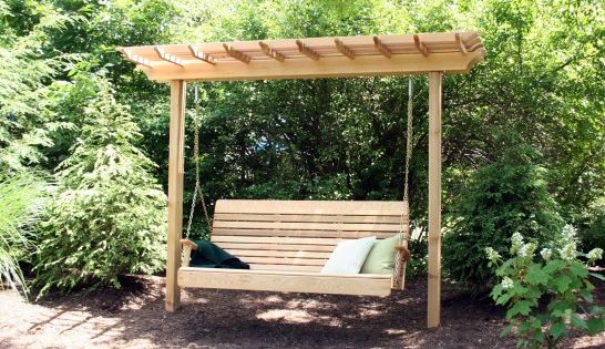 14 cool free standing porch swing picture ideas porch for Cool porch swings