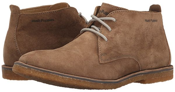 Hush Puppies Desert Ii Taupe Suede Breathable Shoes Men Suede Shoes Men Hush Puppies Mens Shoes