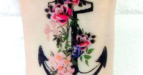 Vintage Anchor tattoo idea