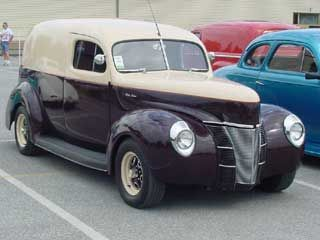 Photo Gallery Of Ford Panel Trucks And Sedan Deliveries Panel Truck 1940 Ford Sedan