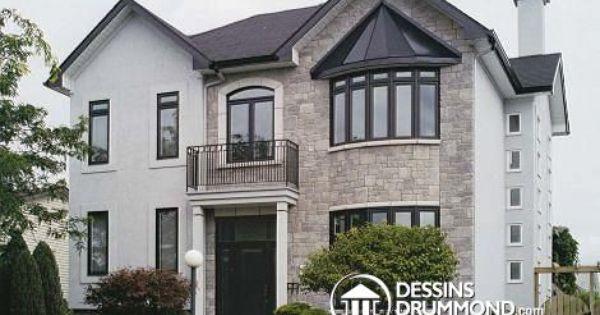 Rénovation W5372 - Après, rénovation, agrandissement Plan de - plan de maison originale