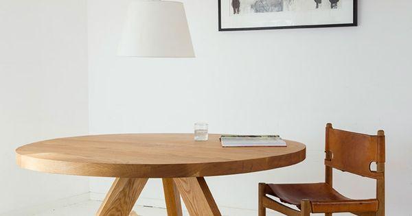 Mesa redonda con tres patas proyectos para la casa for Comedores 4 patas