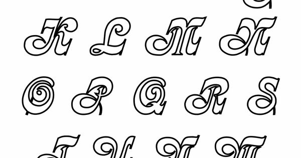 Elegant Cursive Alphabet Chart At YesColoring Yescoloring