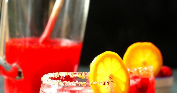 Raspberry Limoncello Lemonade | Recipe | Limoncello, Lemonade and ...