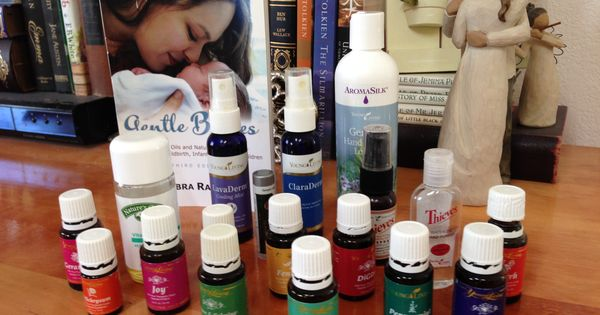 Essential oils for labor, birth, and delivery