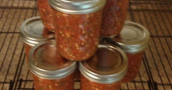 Ghost Chili Salsa - Jolokia Peppers - sweet cherry peppers - stem ...