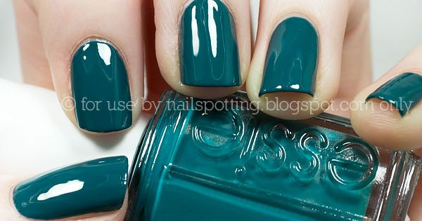 Gorgeous deep teal color.