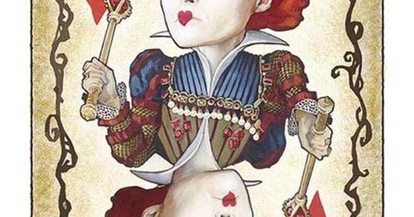 reina roja de tim burton dibujo buscar con google deco pinterest reina roja tim burton. Black Bedroom Furniture Sets. Home Design Ideas