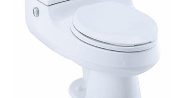 Kohler Co 3597 San Raphael Comfort Height Pressure Lite Gpf Elongated Toilet Toilet Powder Room Lowes