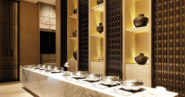 SCDA Rang Mahal Restaurant II, Singapore- Buffet Area  Interior  Pinterest  식당 ...