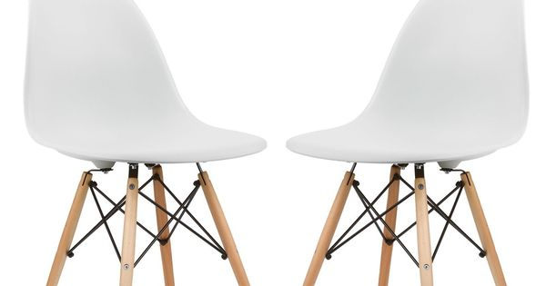 Poly and Bark Vortex Dining Chair Natural Wood Leg Set of  : c4aed46d75f6b545302ccd3411acbf14 from www.pinterest.com size 600 x 315 jpeg 17kB